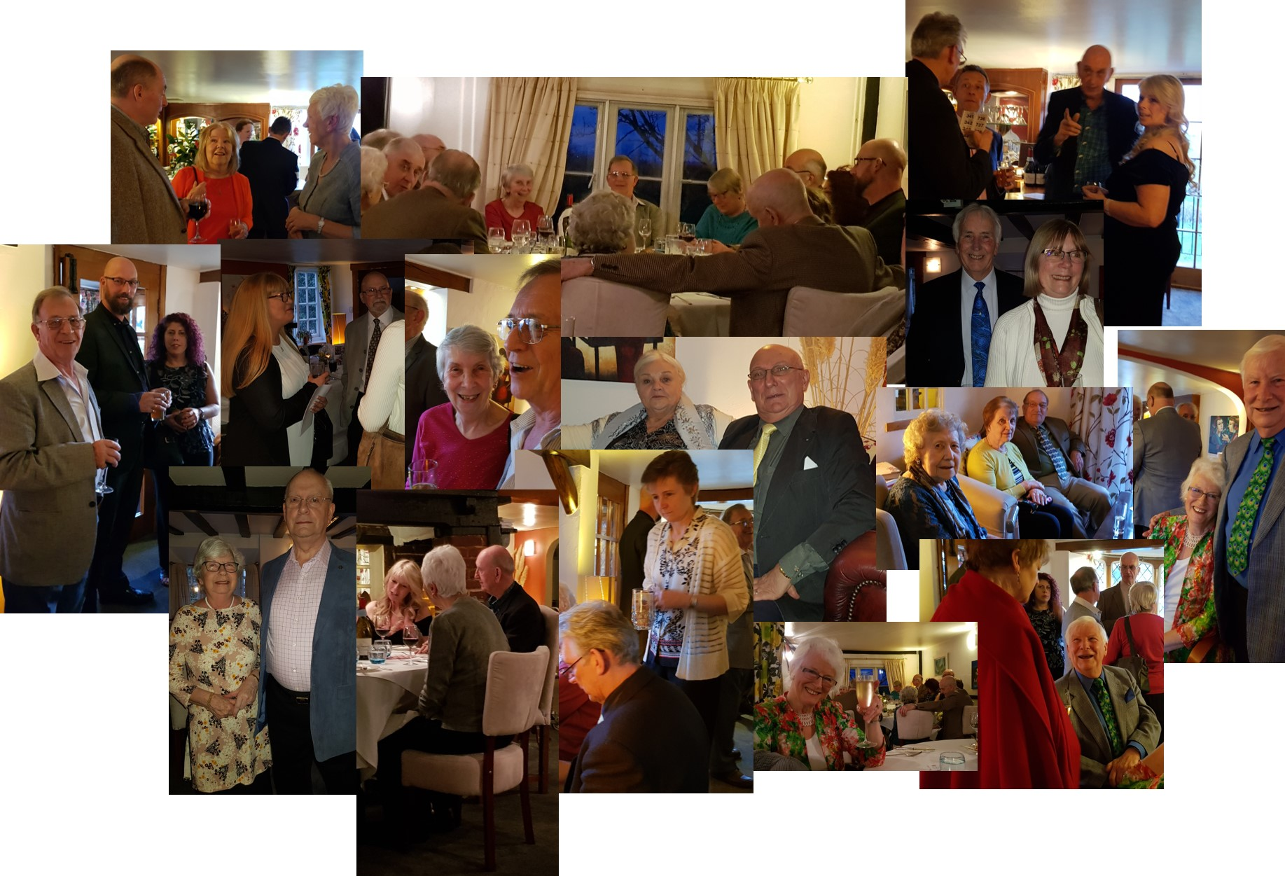 Charity dinner held at the Sundial Restaurant in Herstmonceux to raise money for charity