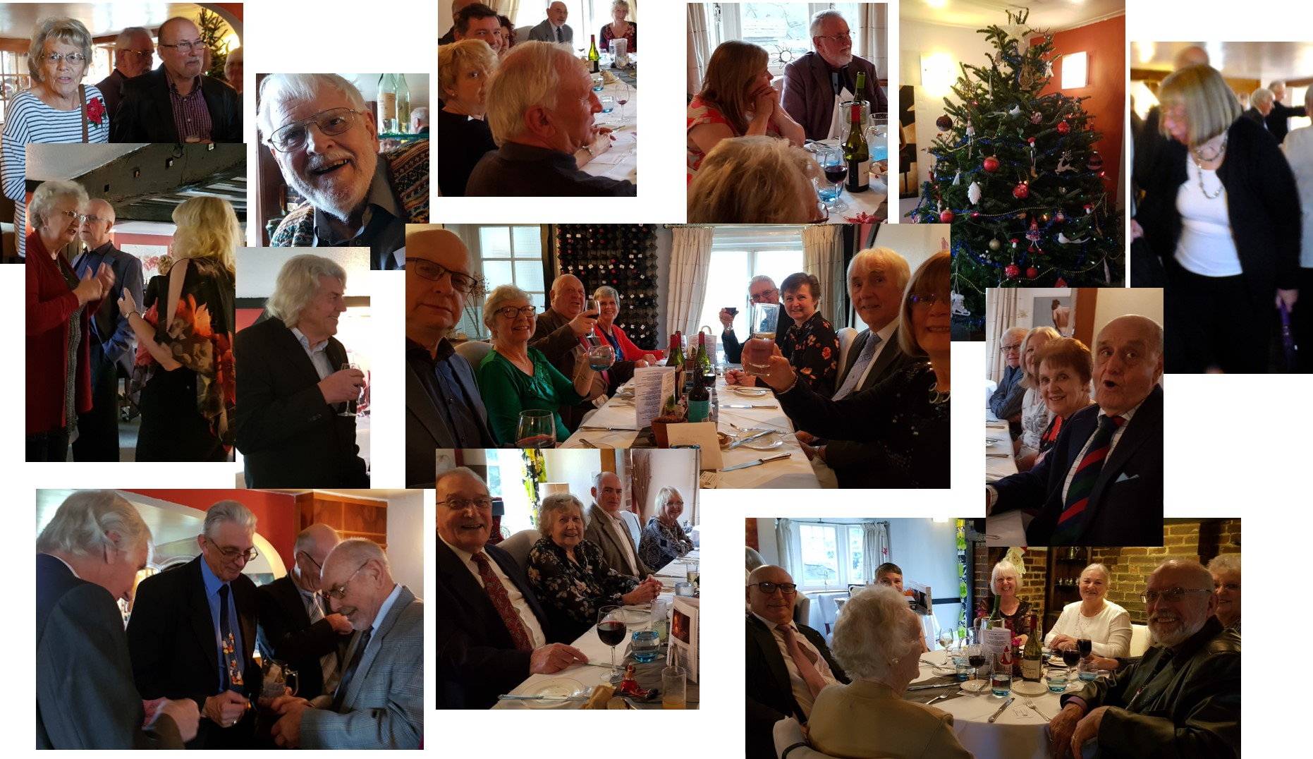Christmas Lunch at the Sundial being enjoyed by friends and families of MPL members