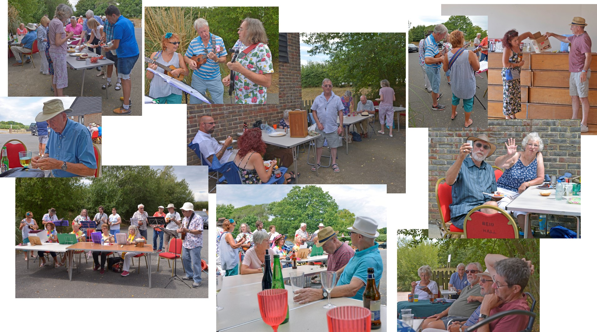 This is our summer bbq held at Reid Hall, Boreham Street. It was sunny and hot